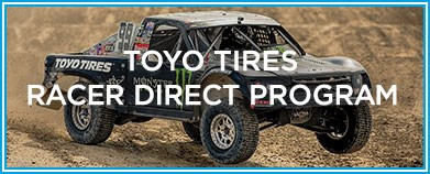 Toyo Tires Racer Direct Program
