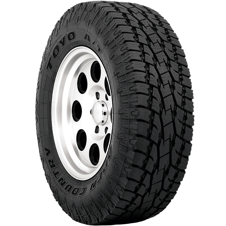 225//75R16 104S Toyo 352360 Open Country A//T II Radial Tire