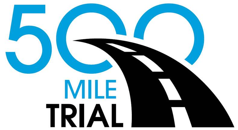 New 500 Mile Trial Logo